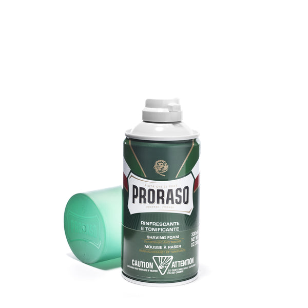PRORASO - SHAVE FOAM - REFRESHING AND TONING FORMULA