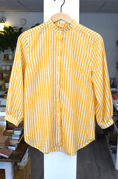 PTC - DIANA V. SHIRT (YELLOW STRIPE)