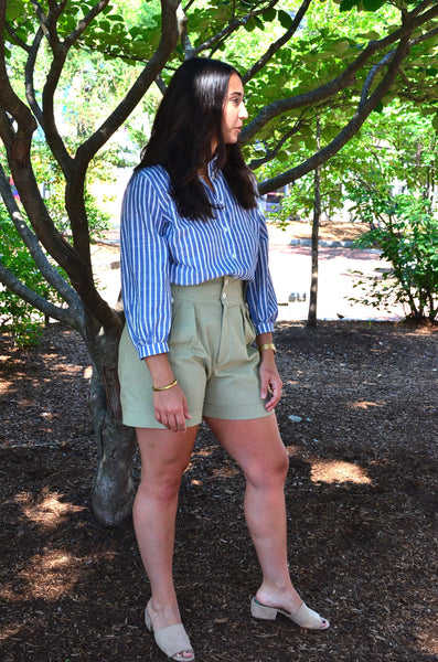 PTC - EXPLORER'S HIGH WAISTED SHORTS (OLIVE)