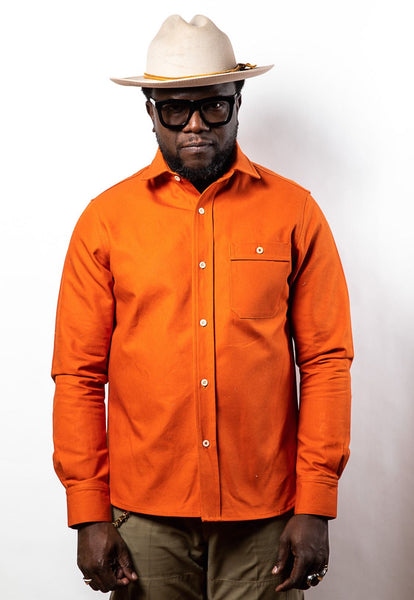 PTC HEAVY OXFORD BD SHIRT - HUNTER ORANGE