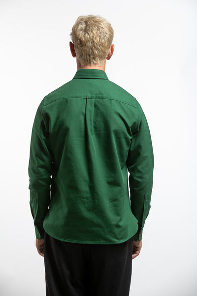 PTC HEAVY OXFORD BD SHIRT - GREEN