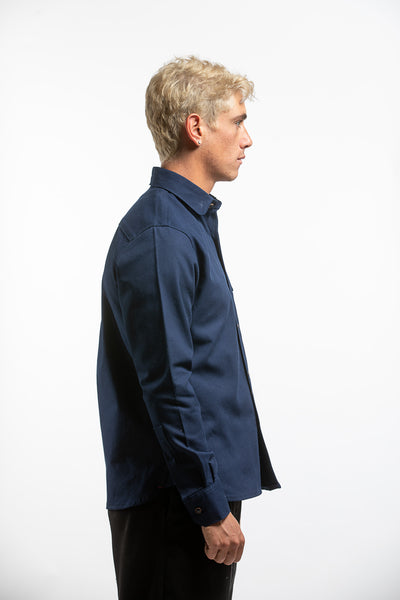 PTC HEAVY OXFORD BD SHIRT - NAVY
