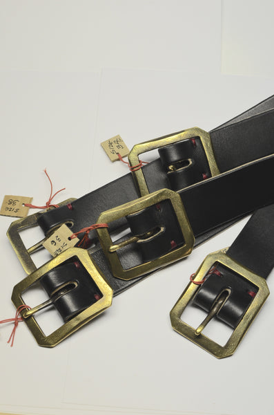 PTC LEATHER GOODS - BELTS (BLACK)