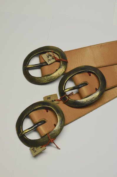 PTC LEATHER GOODS - BELTS (NATURAL)