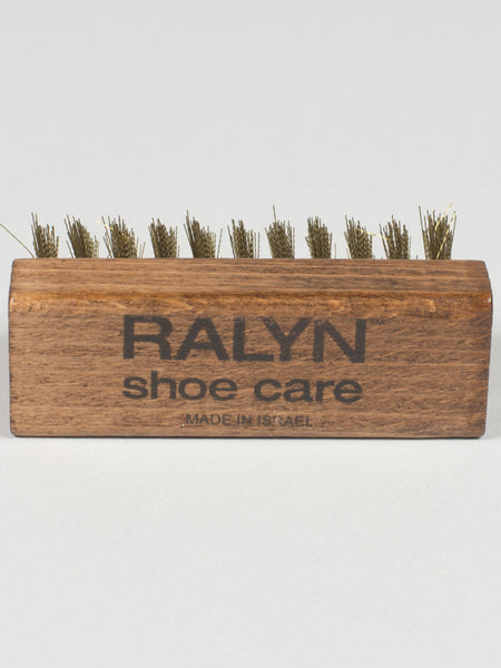 RALYN SUEDE SHOE BRUSH