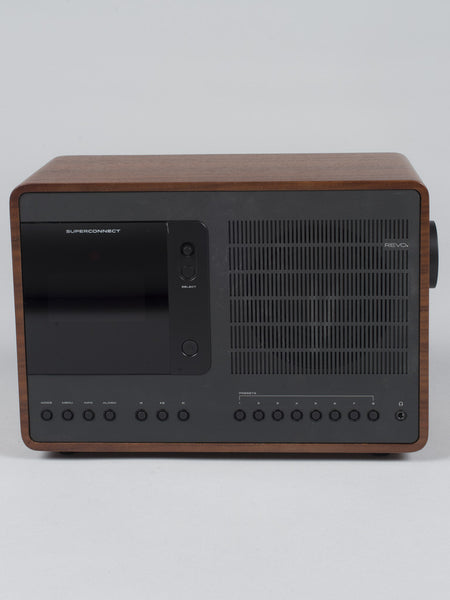 REVO RADIO - SUPERCONNECT (WALNUT / BLACK)