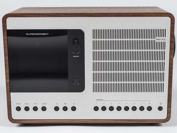 REVO RADIO - SUPERCONNECT (WALNUT / SILVER)