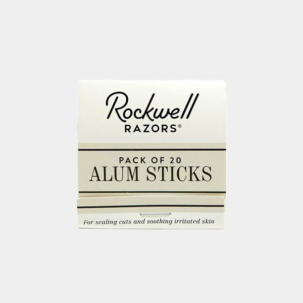 ROCKWELL RAZORS - ALUM STICKS (PACK OF 20)