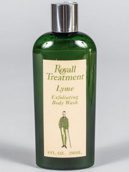 ROYALL LYME BERMUDA - EXFOLIATING BODY WASH (LYME) - 8oz