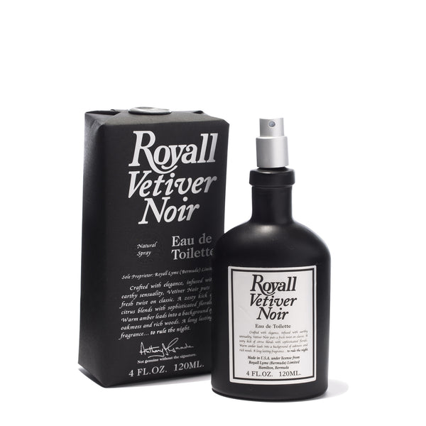ROYALL LYME BERMUDA - VERTIVER NOIR NATURAL SPRAY (4oz)