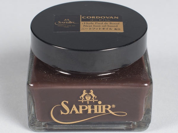SAPHIR - SHELL CORDOVAN SHOE POLISH (75ML)
