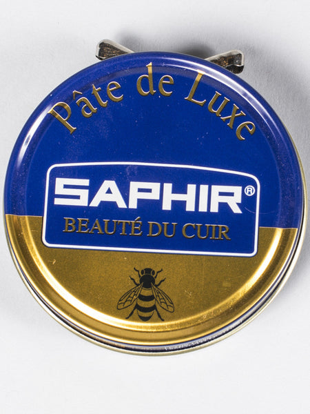 SAPHIR CREME BEAUTE DE CUIR WAX POLISH TIN - 50ML