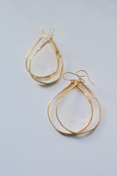 SIMPLY SVEA - SEAWEED EARRINGS (14K GOLD-FILLED)