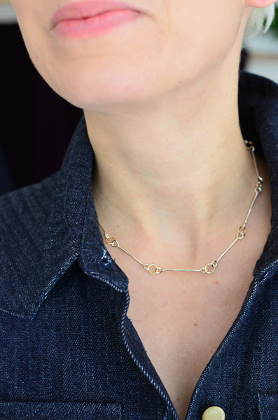 SIMPLY SVEA - HORSEBIT NECKLACE