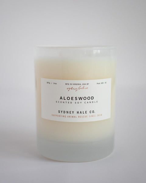 SYDNEY HALE CO. - CANDLE - ALOESWOOD