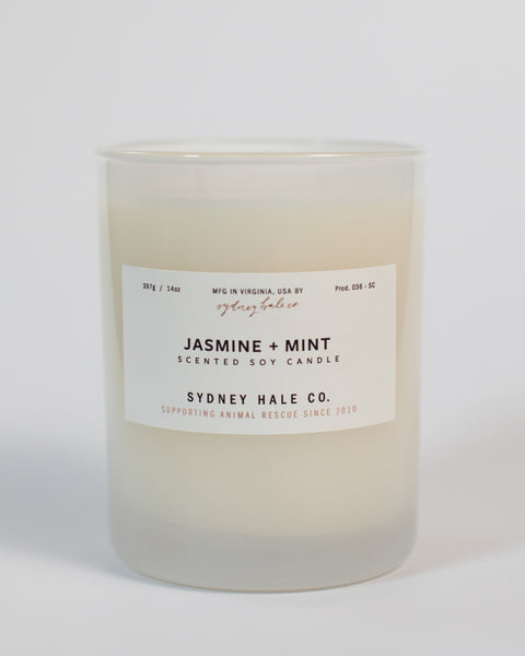 SYDNEY HALE CO. - CANDLE - JASMINE + MINT