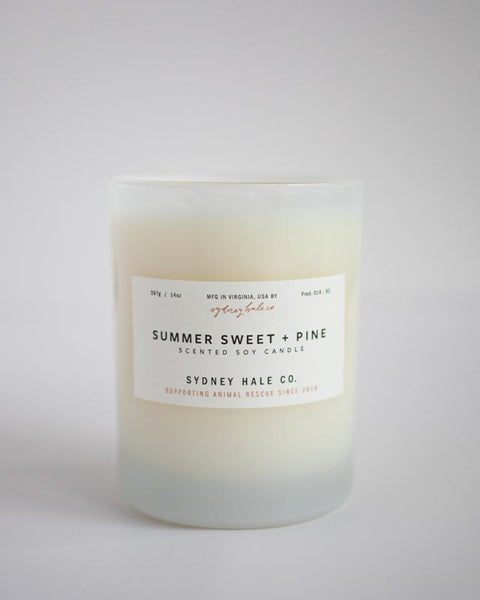 SYDNEY HALE CO. - CANDLE - SUMMER SWEET + PINE