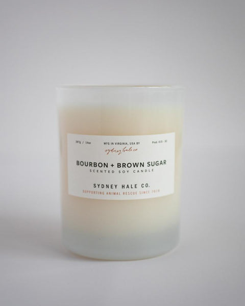 SYDNEY HALE CO. CANDLE - BOURBON & BROWN SUGAR