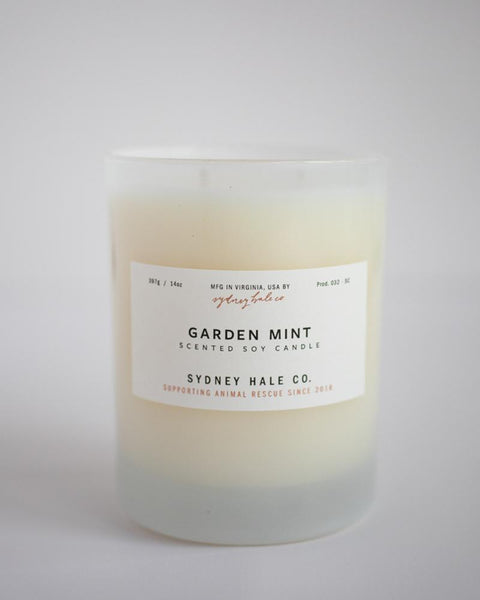 SYDNEY HALE CO. - CANDLE - GARDEN MINT
