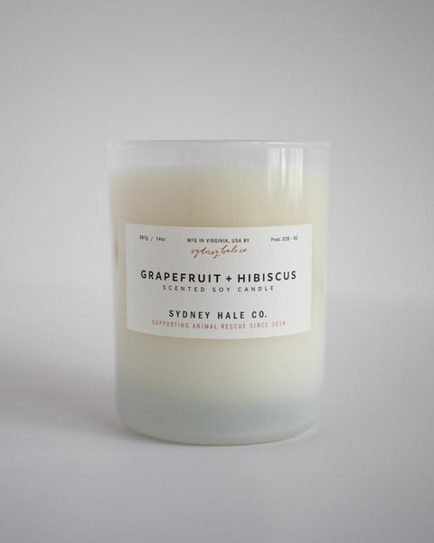 SYDNEY HALE CO. - CANDLE - GRAPEFRUIT HIBISCUS