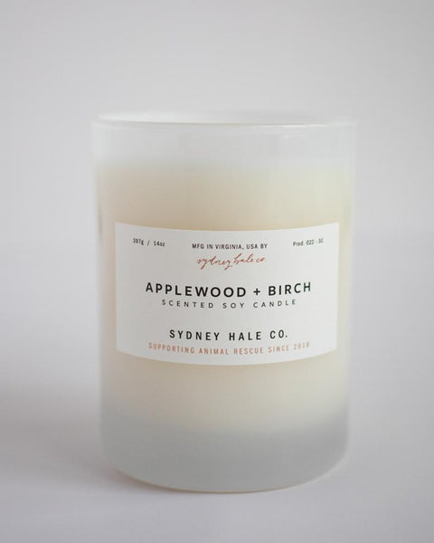 SYDNEY HALE CO. CANDLE - APPLEWOOD & BIRCH