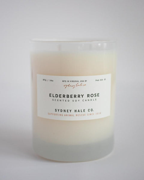 SYDNEY HALE CO. CANDLE - ELDERBERRY ROSE