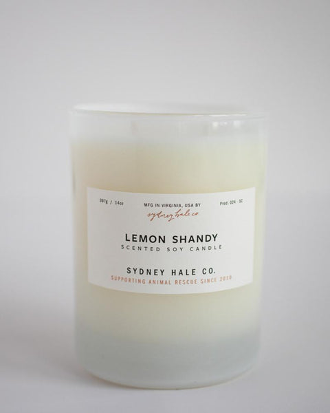 SYDNEY HALE CO. CANDLE - LEMON SHANDY