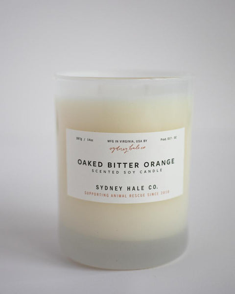 SYDNEY HALE CO. CANDLE - OAKED BITTER ORANGE
