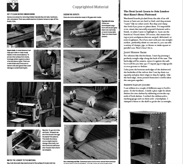 WOODWORKING - WISDOM & KNOW HOW BOOK
