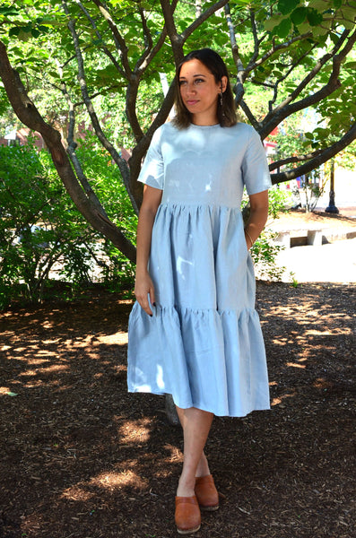 MAKER - LAURA DRESS (CLOUD GREY)