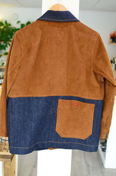 THE QUARTERMASTER - CHORE JACKET (CORDUROY / DENIM)