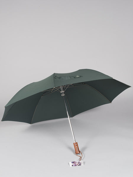 THE UMBRELLA SHOP - TWO FOLDS SOLIDS (GREEN)