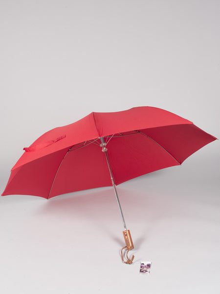 THE UMBRELLA SHOP - TWO FOLDS SOLIDS (RED)