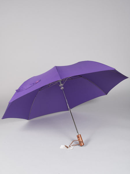 THE UMBRELLA SHOP - TWO FOLDS SOLIDS (PURPLE)