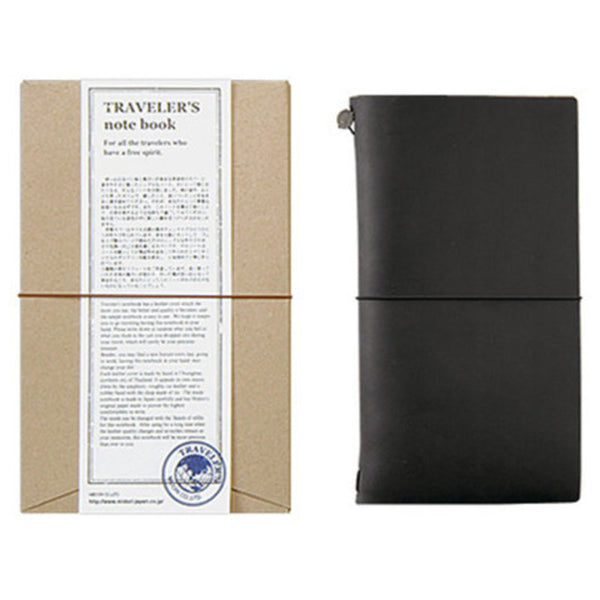 TRAVELER'S NOTEBOOK - REGULAR SIZE (BLACK)