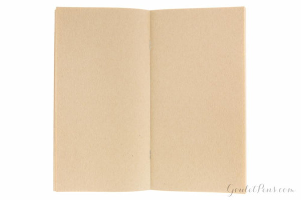 TRAVELER'S NOTEBOOK - REGULAR SIZE (REFILL - KRAFT PAPER BLANK - 014)