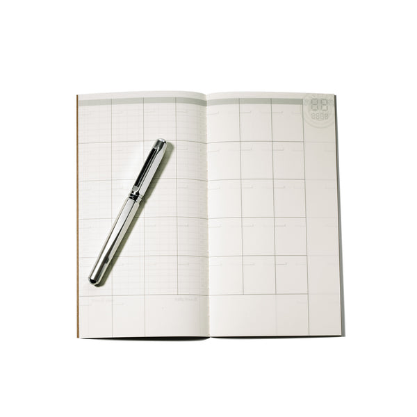 TRAVELER'S NOTEBOOK - REGULAR SIZE (REFILL - FREE DIARY MONTHLY - 017)