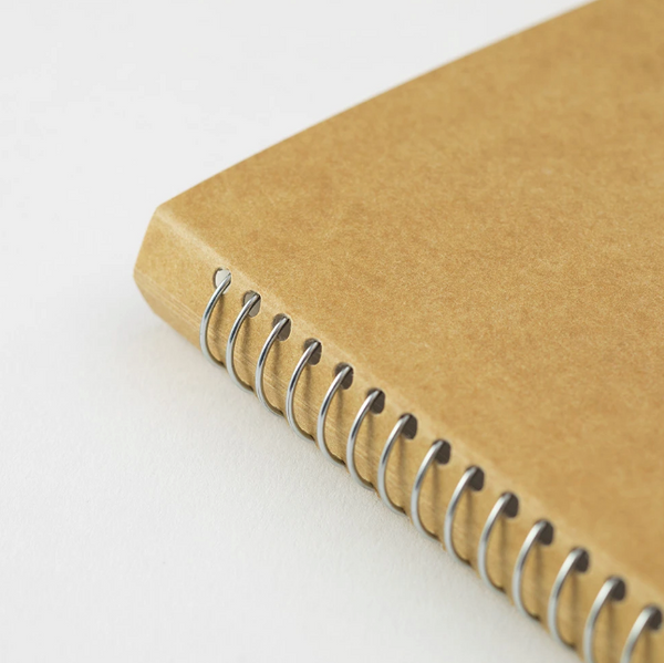 TRAVELER'S COMPANY - SPIRAL RING NOTEBOOK (A5 SLIM) BLANK MD PAPER WHITE