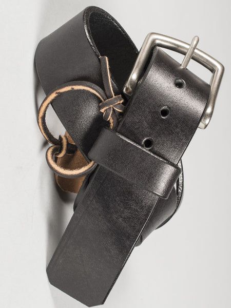 VERMILYEA PELLE - BELT (BLACK)