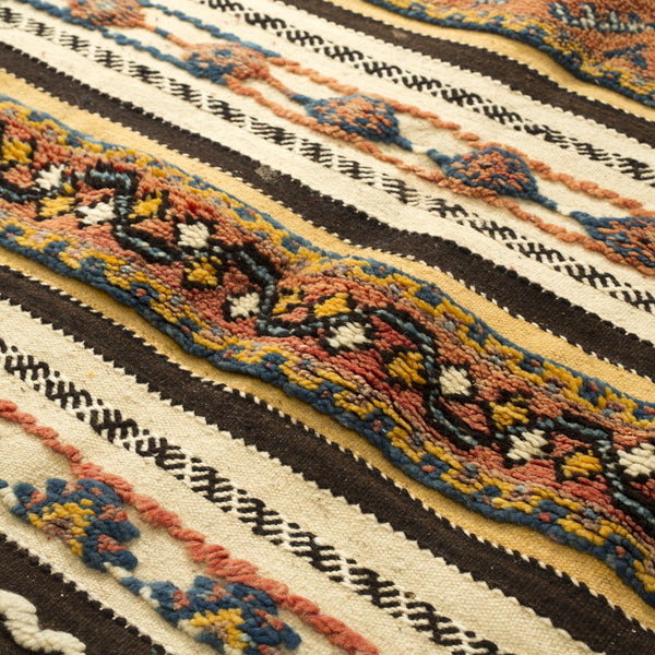 VINTAGE MOROCCAN RUG (TAZNAKHT HIGH ATLAS) 3 X 6.5FT