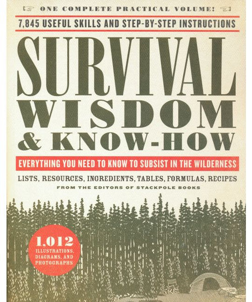 WISDOM & KNOW HOW BOOK SERIES - SURVIVAL