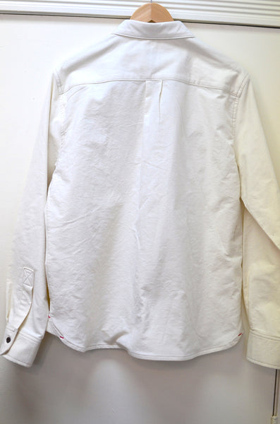 OFFICER'S LOUNGE  WORK SHIRT - CREAM