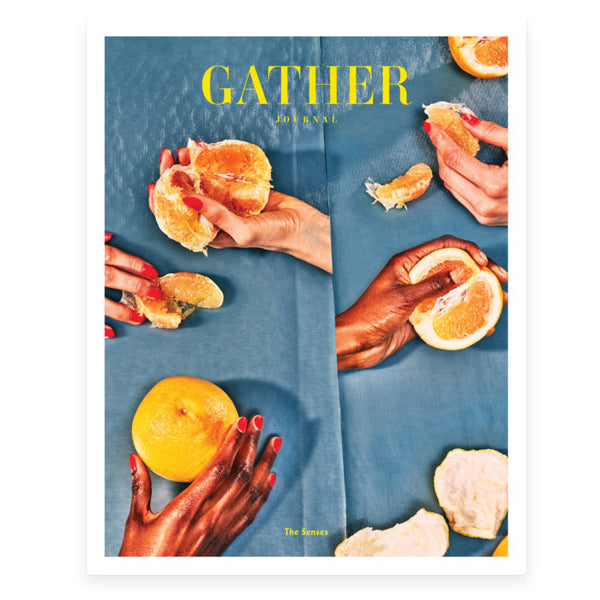 GATHER JOURNAL - ISSUE 12, THE SENSES (WINTER 2018)
