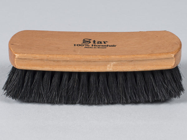 STAR - BOOT/SHOE SHINE/BUFF BRUSH (BLACK)