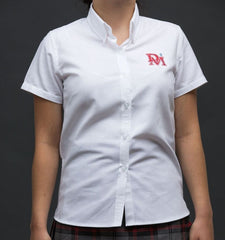 Denis Morris Ladies Short Sleeve Oxford