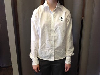 Holy Cross Ladies Long Sleeve Oxford