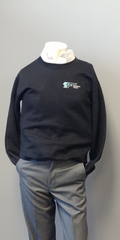 Transit Black Crew Neck (Supervisor)