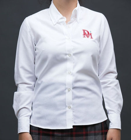 Denis Morris Ladies Long Sleeve Oxford