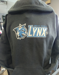 Loretto Lynx Youth Grey Hoodie