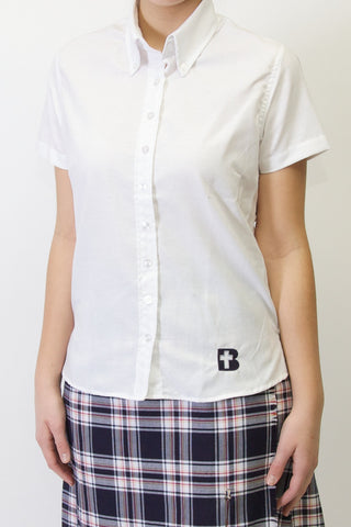 Blessed Trinity Ladies Short Sleeve Oxford